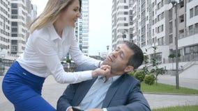 Pojęcie żeńska przewaga nad mężczyzną zbiory