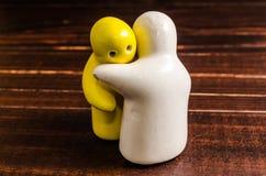 Pojęcie abstrakt ściskać ceramiczne lale fotografia royalty free