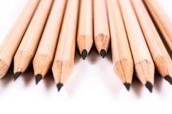 Pojęcie abstrakt ołówka tło zdjęcia stock