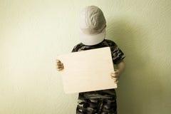 Pojęcie biznes Dziecko przechylający Zdjęcia Stock