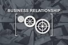 Pojęcie biznesowy związek ilustracji