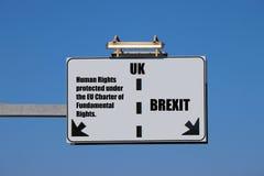 Pojęcie brexit Polepsza pobyt w UE? obrazy royalty free