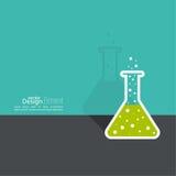 Pojęcie chemicznej nauki badanie Zdjęcia Royalty Free