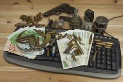 Pojęcie cyberprzestępstwo Działalność przestępcza wykonująca komputerami i internetem Obraz Royalty Free