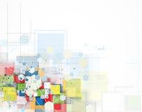 Pojęcie dla nowa technologia Korporacyjnego biznesu rozwoju & Zdjęcie Royalty Free