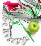 Pojęcie dla zdrowej diety i ciało ciężaru kontrola Zdjęcia Stock