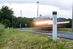 Pojęcie drogowego ruchu drogowego bezpieczeństwo Obrazy Stock