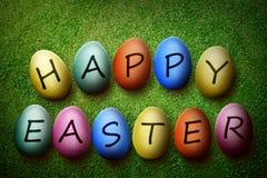 pojęcie Easter szczęśliwy Fotografia Royalty Free