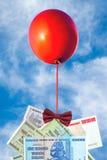 Pojęcie inflaci i waluty fluktuacje, hiperinflacja, zdjęcia stock
