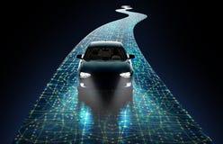 Pojęcie jeżdżenie samochód Obrazy Stock