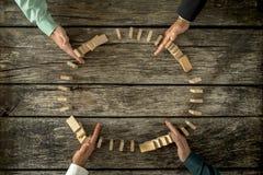 Pojęcie kryzysu rozwiązanie i problemu zarządzanie Zdjęcia Stock