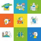 Pojęcie motywacja, rozwój, sukces w uczenie, rozpoczęcie i innowacja, Obraz Royalty Free