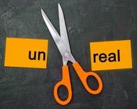 Pojęcie motywacja wpisowego ` un istny ` i nożyce między one bramkowy osiągnięcie, potencjalny pokonywanie zdjęcia royalty free