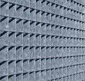 pojęcie obramia kruszcowego grille przemysłu Obraz Royalty Free