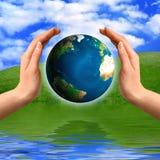pojęcie ochrony środowiska Fotografia Stock
