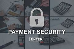 Pojęcie płatnicza ochrona obrazy stock