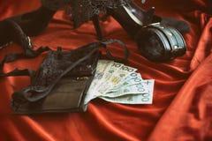 Pojęcie płci turystyka, bdsm lub prostytutka temat, obraz royalty free