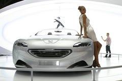 pojęcie Peugeot sr1 obraz royalty free