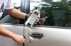 Pojęcie Pijący kierowcy socjalny problem obrazy royalty free