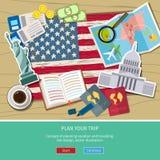Pojęcie podróży lub studiowania angielszczyzny Zdjęcia Stock