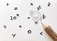 Pojęcie pomysł dla z powrotem szkół sformułowania ilustracji