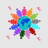 Pojęcie praca zespołowa, jedność, siły przywódctwo i odwaga, Zdjęcie Stock