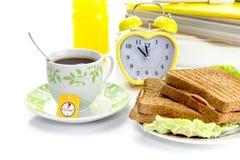 Pojęcie przerwa na lunch przy szkołą w miejscu pracy lub, instytut zdjęcie royalty free