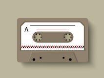 Pojęcie radiowa kaseta royalty ilustracja