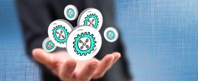 Pojęcie rozwój biznesu zdjęcie stock
