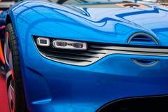 Pojęcie samochodowy Renault Alpejski A110-50 obrazy royalty free