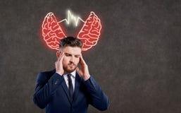 Pojęcie stres, kryzys, problemy zdjęcia royalty free