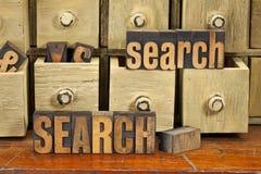 pojęcie typ drewniany słowo Zdjęcia Stock
