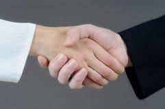 pojęcie uścisk dłoni Obraz Royalty Free
