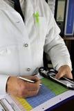 Pojęcie wizerunek lekarka obraz stock