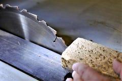Pojęcie wizerunek saw - warsztat, złota rączka fotografia stock