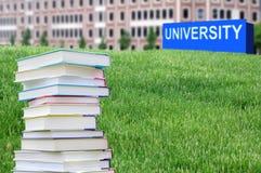 Pojęcie wykształcenie wyższe obrazy royalty free