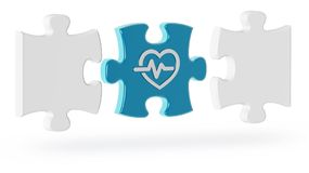 Pojęcie wyzwania w kardiologii ilustracji