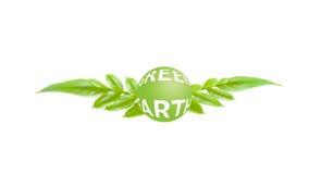 Pojęcie zielona ziemia Obraz Royalty Free
