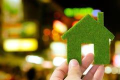 pojęcia eco zielony dom Zdjęcie Stock