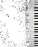 pojęcia gitary elektrycznej ilustraci muzyka Obrazy Royalty Free