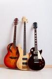 pojęcia gitary musical Obraz Royalty Free