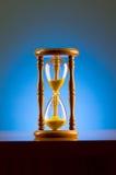 pojęcia hourglass czas Obrazy Stock