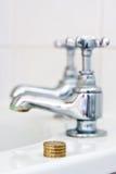 pojęcia kosztu woda Obraz Stock