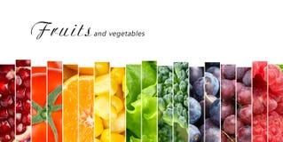 pojęcia owoc warzywa Fotografia Royalty Free