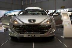 pojęcia rcz hybrid4 Peugeot Zdjęcia Royalty Free