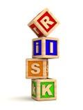 pojęcia ryzyko Obrazy Stock