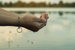 Pojęcia save woda Obraz Royalty Free