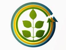pojęcia ziemski ekologii zieleni krajobrazu protecti Fotografia Stock