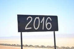 2016 pojęcie Obraz Stock