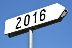 2016 pojęcie Fotografia Stock
